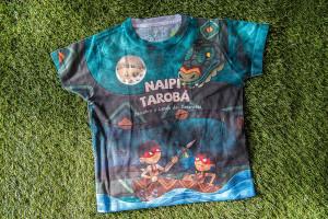 Camiseta Naipi e Tarobá